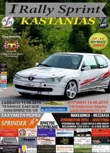 Rally Sprint Kastanias 2015 afisa