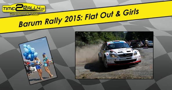 barum rally flat out + girls