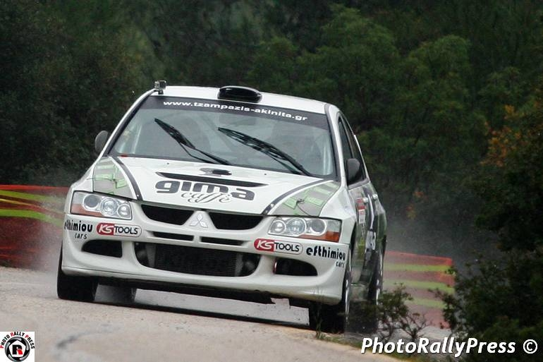 0005 KIRKOS - POLIZOES 3o Athens Rally Sprint 2015 Agios Merkouris