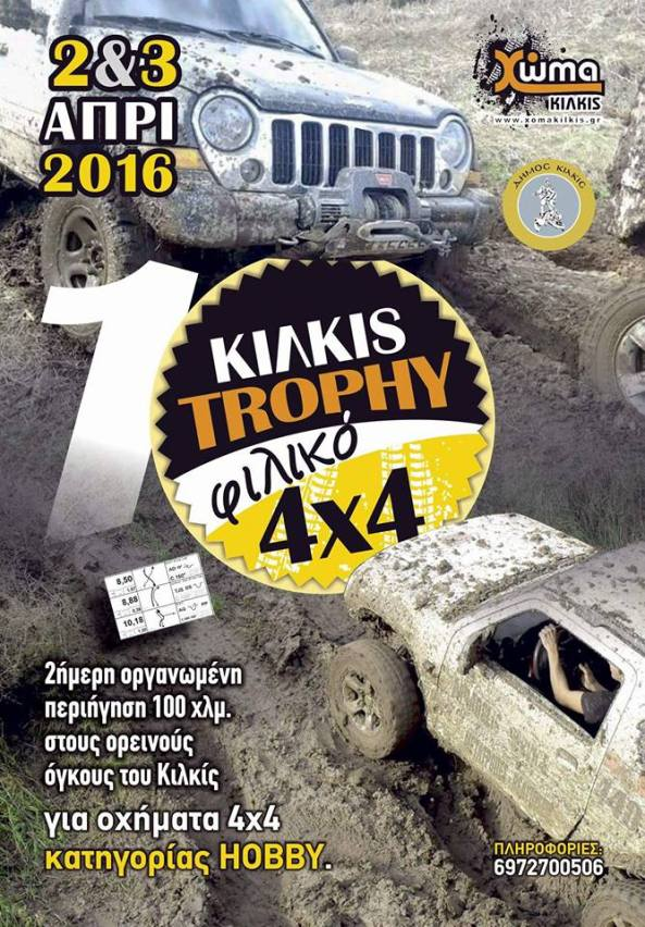 poster kilkis trophy 2016
