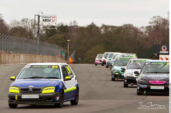 02 thomas krasonis Junior Saloon Championship Round 1 Oulton Park