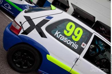 03 thomas krasonis Junior Saloon Championship Round 1 Oulton Park
