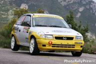 0010 KARATHANASIS-KARATHANASIS 7o autovision rally sprint mpralou