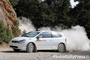 0012 VLACHOGIANNIS - TRANTOS 37o rally sprint korinthoy 2016