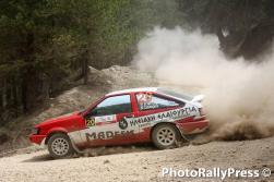 0020 TRIANTOPOULOS - DELEGOS 37o rally sprint korinthoy 2016