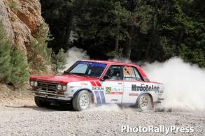 0025 BASDELIS - DOURDOUMAS 37o rally sprint korinthoy 2016