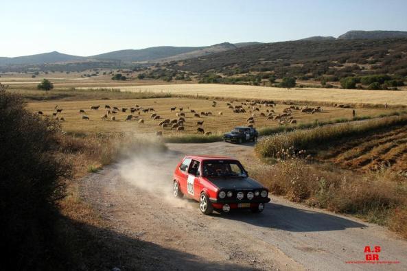103 historic rally of greece regularity