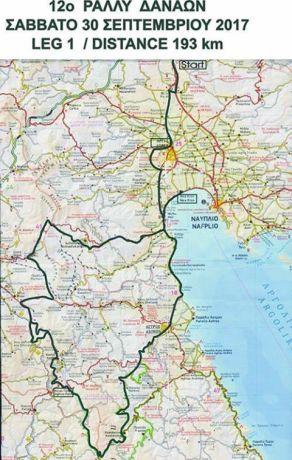 12o rally regularity danaon ac3 map day1